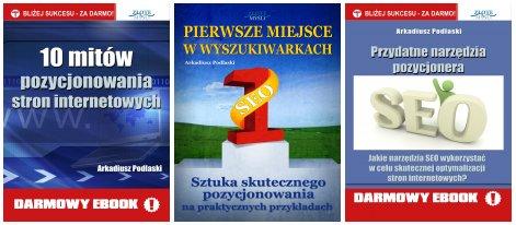 Książki Arkadiusza Podlaskiego